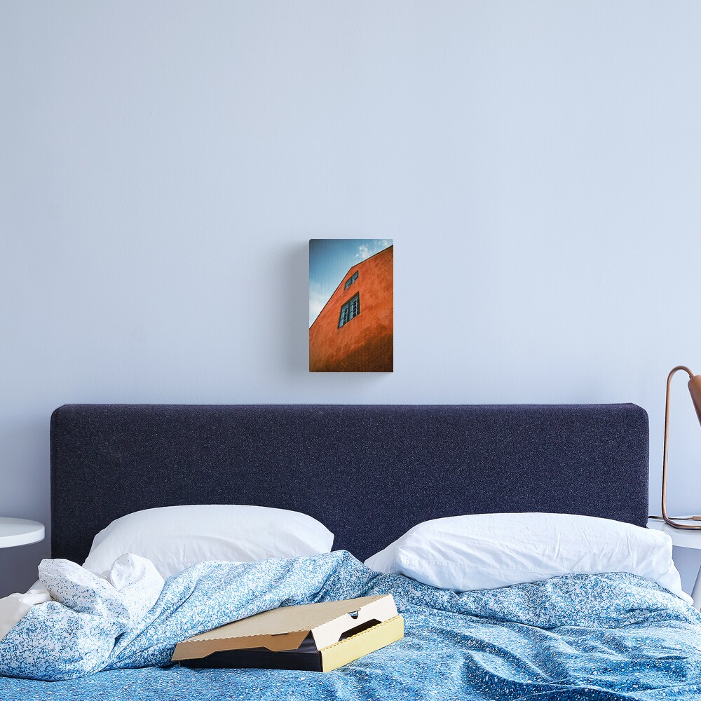 House in Nyboder, Copenhagen, Denmark Canvas Print