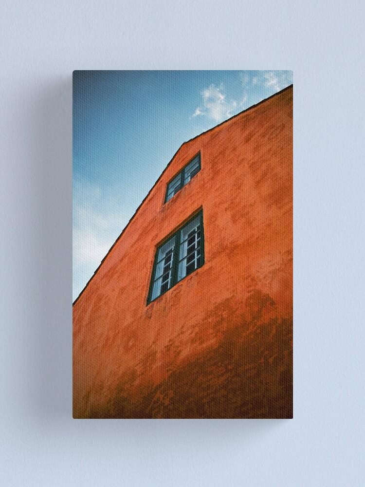 Alternate view of House in Nyboder, Copenhagen, Denmark Canvas Print