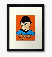 A Spockwork Orange Framed Print