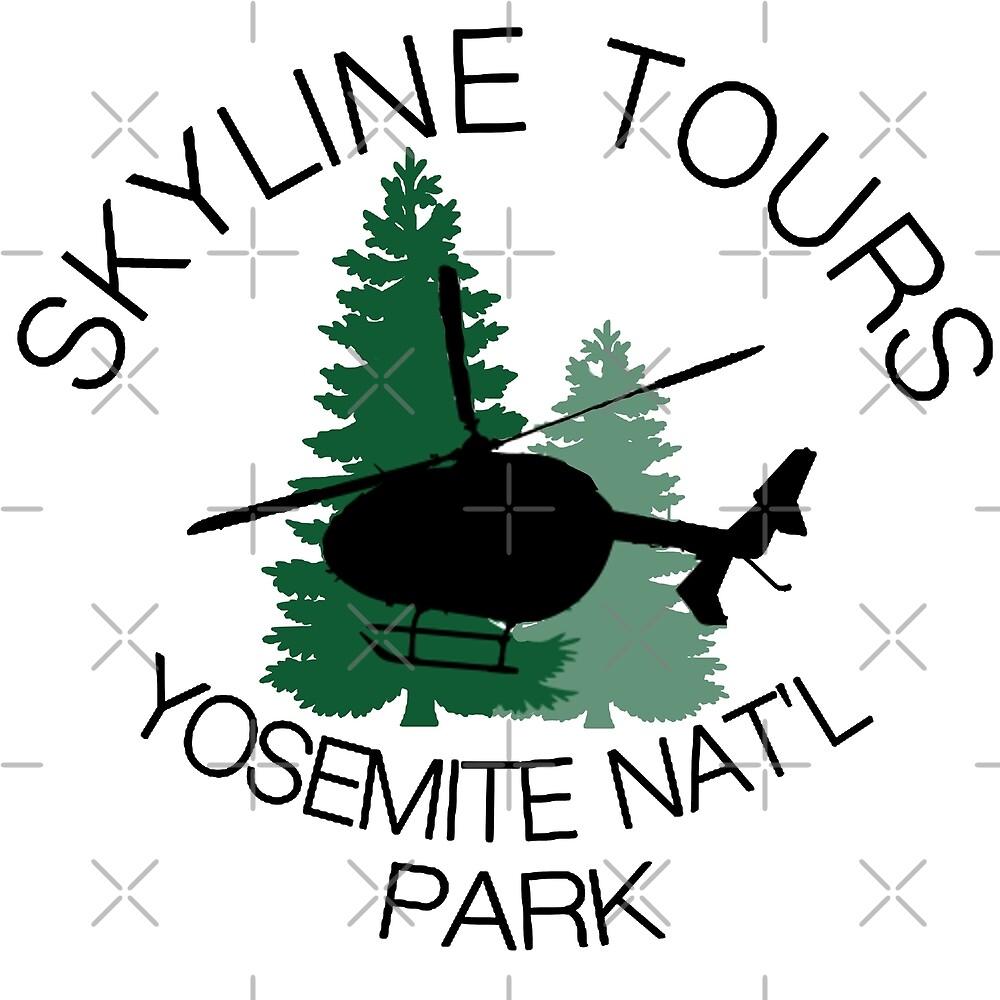 Skyline Helicopter Tours Yosemite National Park by Jacobburrito