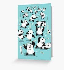 PANDAMONIUM Greeting Card