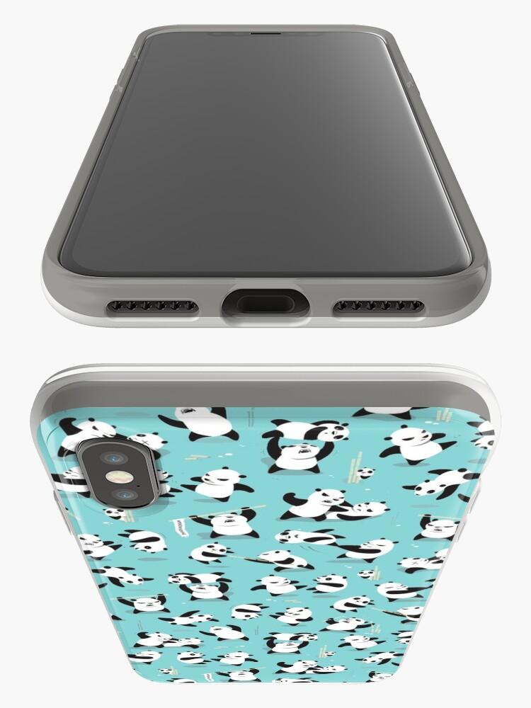 Alternate view of PANDAMONIUM iPhone Case & Cover