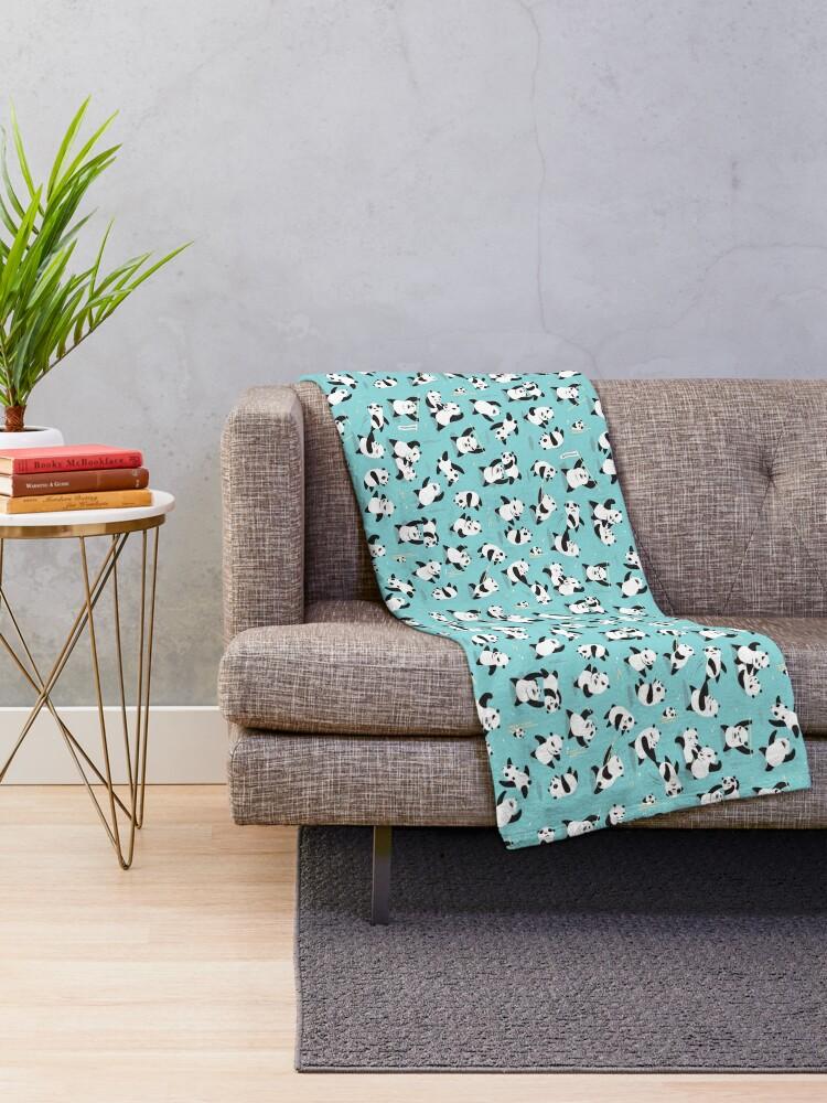Alternate view of PANDAMONIUM Throw Blanket
