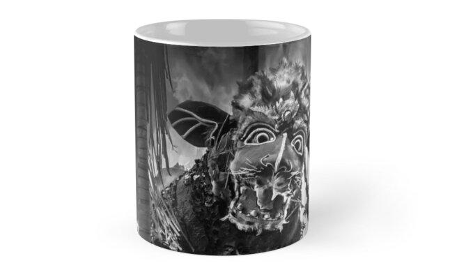 Bali Cremation Bull - Mug by Glen Allison