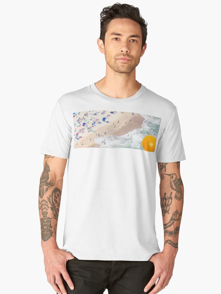 Yolkcean Men's Premium T-Shirt Front