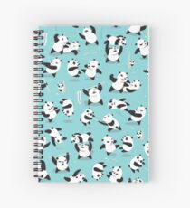 PANDAMONIUM Spiral Notebook