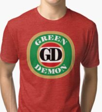 Green Demon VB Tri-blend T-Shirt
