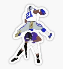 Ezekiel Elliott Hurdle Sticker