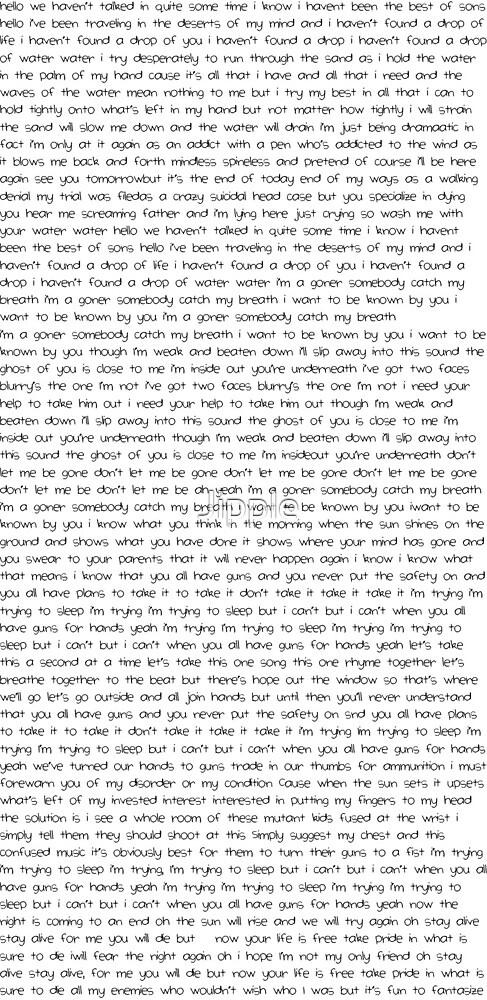 Twenty Øne Pilots Lyrics by Jipple