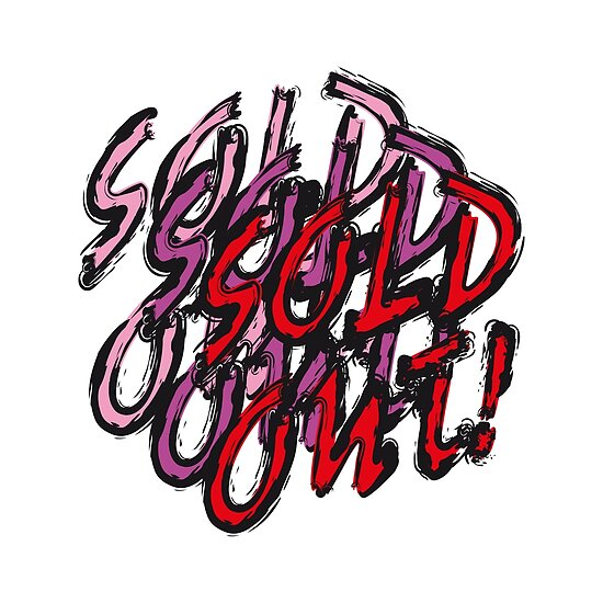 Sold out! - multi red by Hell-Prints