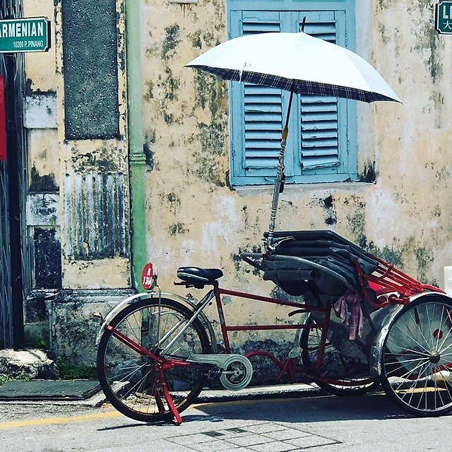 Georgetown, Penang, Malaysia by Erin Hayley
