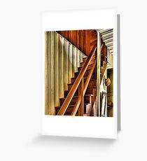 Upstairs Downstairs Greeting Card
