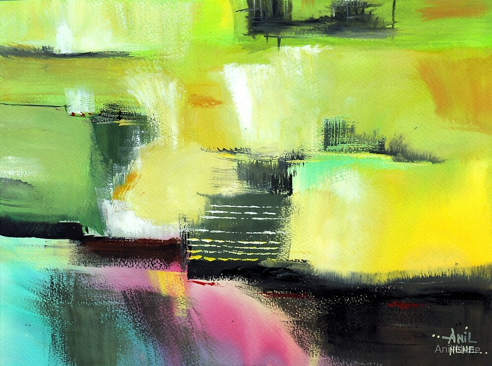 Abstract 16 by Anil Nene