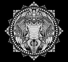 Elephant Medallion by GODZILLARGE