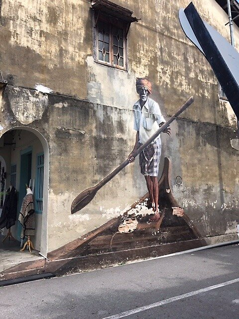 Georgetown art trails, Penang, Malaysia by Erin Hayley