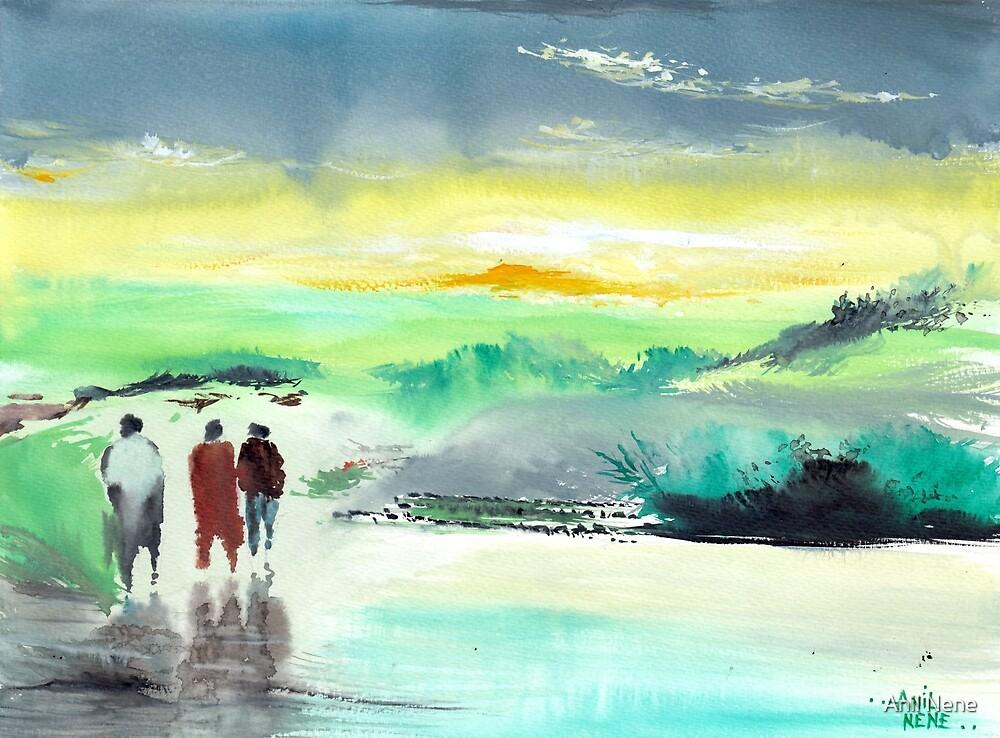 Three is company by Anil Nene