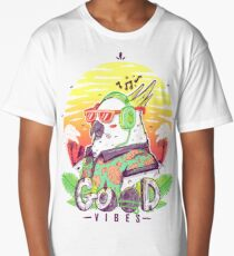 Polly Wants Some Good Vibes! Long T-Shirt