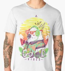 Polly Wants Some Good Vibes! Men's Premium T-Shirt