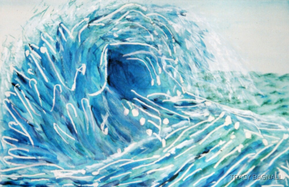 waves (hand series) by TRACY BAGNALL