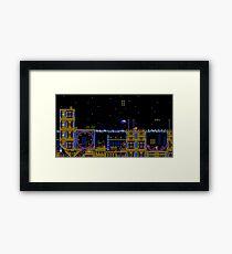Casino Night Zone Framed Print