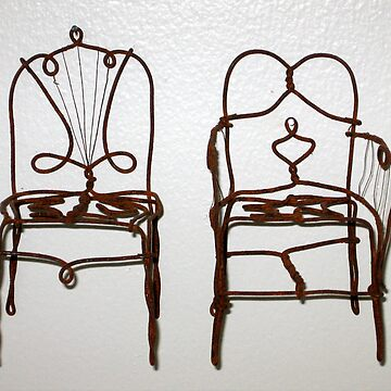 Wire Chairs by NOLAlphabet