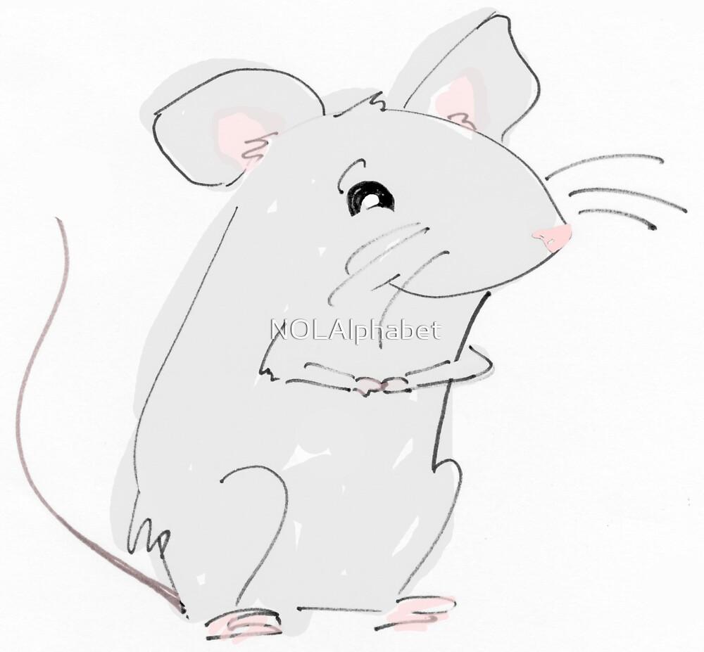 Pipsqueak Mouse by NOLAlphabet