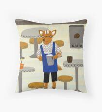 Coffee, my deer  Throw Pillow