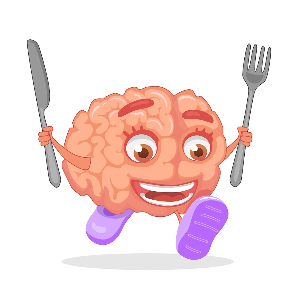 brain nutrition concept by OllegNik