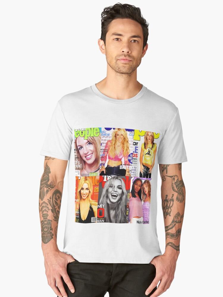 Britney TEEN PEOPLE Men's Premium T-Shirt Front