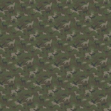 Woodland Animal Camouflage by BuddyWolf