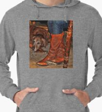 Boots and Buddy Painted Lightweight Hoodie