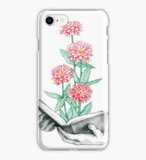 Book in bloom iPhone Case/Skin