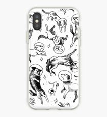 Vinilo o funda para iPhone Space dogs