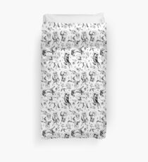 Space dogs Duvet Cover