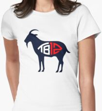 goat brady Women's Fitted T-Shirt