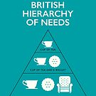 British Hierarchy of Needs - Blue by Stephen Wildish