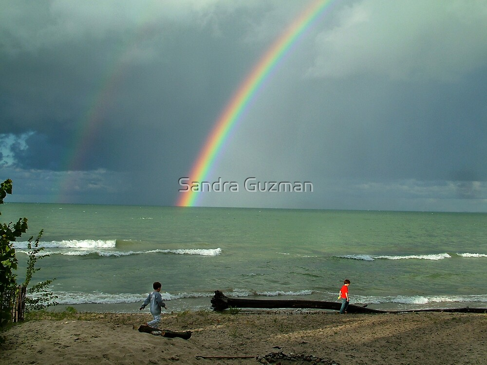 To the end of the rainbow... by Sandra Guzman