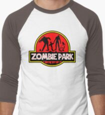 Jurassic Halloween Zombie Park Parody T-Shirt