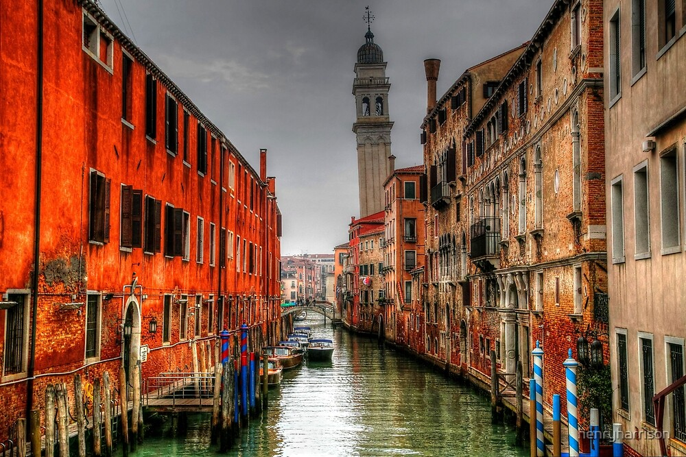 Leaning Bell Tower Venice by henryharrison