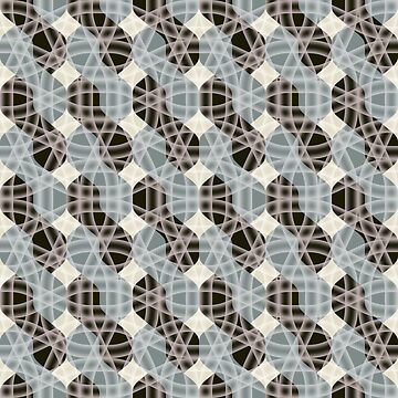 Seamless abstract pattern by OllegNik
