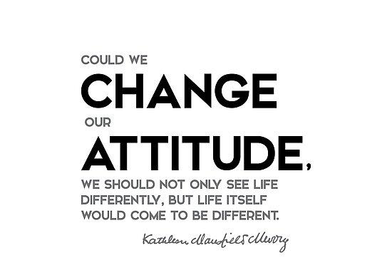 change attitude - katherine mansfield by razvandrc