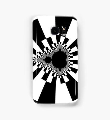 Mandelbrot XV - White Samsung Galaxy Case/Skin