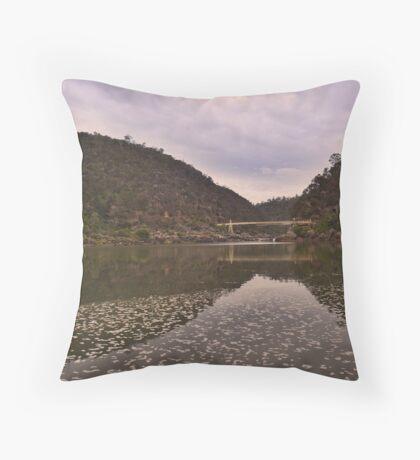 Morning at Cataract Gorge Throw Pillow