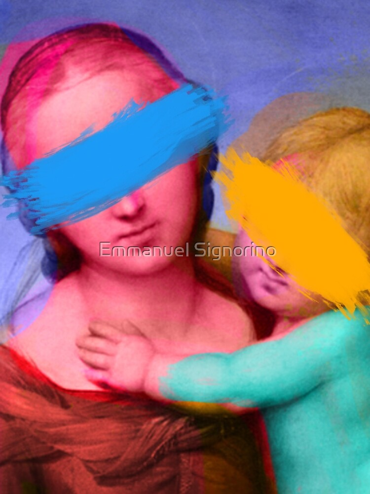 Renaissance Painting Pop Art Remix by signorino