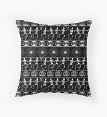 Halloween pattern Throw Pillow