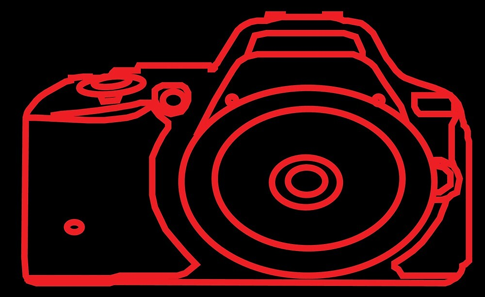 Art of the Camera - RED by Hannah Wilson