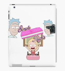 Best thing Rick Ever did!! iPad Case/Skin