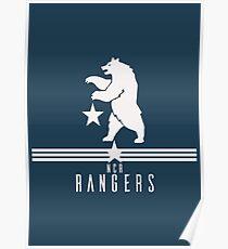 New California Republic Rangers Poster
