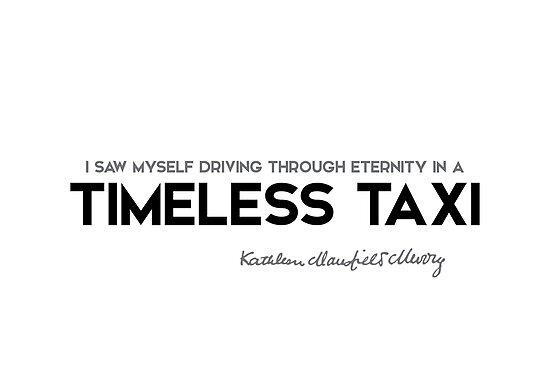 timeless taxi - katherine mansfield by razvandrc
