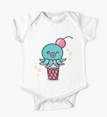 Octopus Ice Cream - Kawaii Sweet Squid Japan Anime Kids Clothes